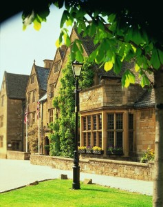 The Lygon Arms Front of hotel high res